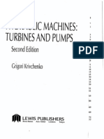 Hydraulic Machines - Turbines and Pumps 2ed; G. I. Krivchenko; IsBN 1566700019; Lewis Publishers