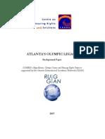 Atlanta Background Paper