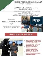 Examen Grado Derecho Utb