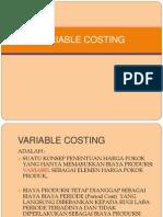 BAB VIII Variabel Costing1