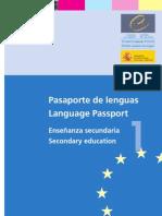 PEL pasaporte secundaria