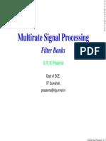 Multirate Signal Procesing -FilterBanks