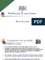 ABC Relationare Si Comunicare