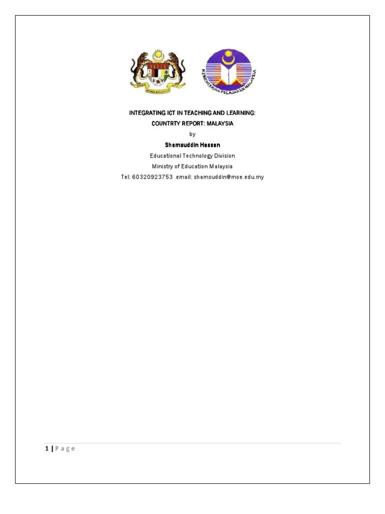 Ict in malaysia educational technology internet malvernweather Choice Image
