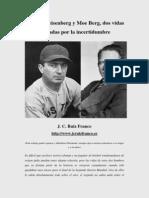 Werner Heisenberg y Moe Berg (J. C. Ruiz Franco)