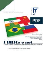 I BRICS e noi -Quercia-Magri-