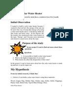 Solar Water Heater (1)