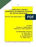 ESTUDIO DE COMPENSACIÓN VARIABLE-CHILE