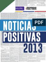 Las Noticias positivas 2013, Embajada de Colombia en la Unión Europea, Bélgica y Luxemburgo