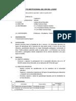 PROYECTO INSTITUCIONAL DEL DÍA DEL LOGRO