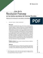 Miguel Angel Gómez - Revolución francesa en textos escolares