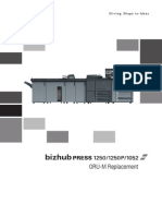 Bizhub Press 1250 1250p 1052 Oru m Replacement en 1 1 0