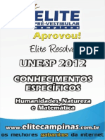 Elite Resolve Unesp 2012-2aFase