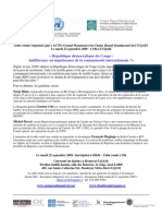 22 Septembre 2009 table Ronde RDC_francais_19h