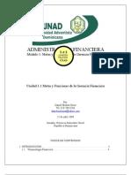 Unidad 1.1 Metas y Funciones de La Gerencia Financiera