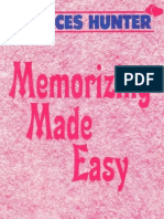 Memorizing Made Easy