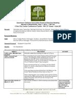 DOA Board Meeting May 1, 2013 Minutes
