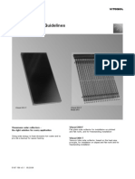 Viessmann Vitosol Thermal Solar Collectors System Design Guidelines