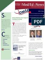 UA OMSE Med/Ed eNews v2 No. 05 (Dec 2013)