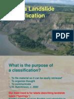 Landslide Classification
