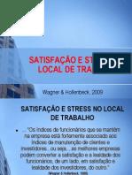 STRES E SATISFAÇÃO NO TRABALHOr (Wagner & Hollenbeck)