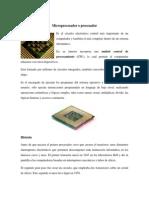 Microprocesador, Memoria RAM y Disco duro, requerimientos básicos de los sistemas operativos.