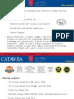 Catawba College Information