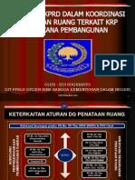 Kinerja BKPRD Dalam Koordinasi Penataan Ruang Terkait KRP Rencana Pembangunan