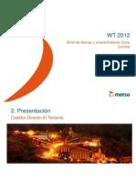 Brief Codelco - División El Teniente  (WT 2012)