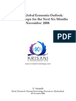 Global Economic Out Look No v 2008