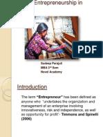 Women Entrepreneurship in Nepal