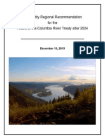 Regional Recommendation Final, 13 DEC 2013