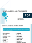 Minor Ailments Ppt