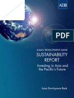 Asian Development Bank Sustainability Report 2013