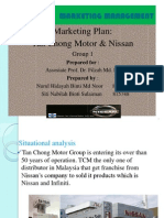 Tan Chong Motors Marketing Plan
