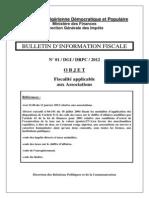 BIF Fiscalite Applicable Aux Associations