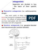 13. Cholinergic Antagonists