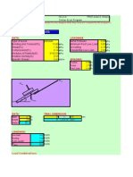 Excel Program for Timber Structures