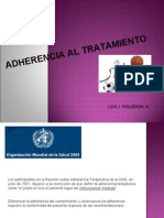 adherencia terapeutica