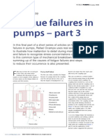 Fatigue Failures in Pumps - Part 3