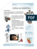 INTRODUCCION A LA ROBÓTICA - REVISTA 1
