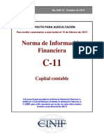 NIF C-11 Capital Contable
