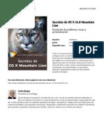 Secretos de Os x 10 8 Mountain Lion