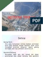 1.Geoteknik Tambang