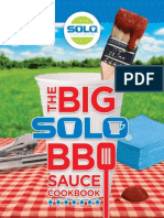 The Big Solo Bbq Sauce Cookbook