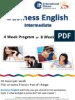 호주 IH Business English Intermediate 2014