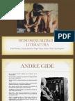 Homosexualidad y Literatura