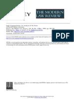 Legal Argumentation