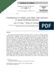 Clarification of Vehicle Cone Index