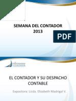 El Contador y Su Despacho Contable